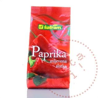 Paprika Mlevena Slatka | Safram | Gemahlener Paprika Mild 100G