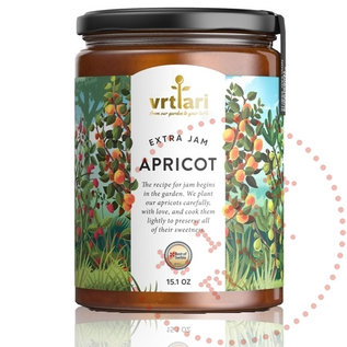 Confiture extra d'abricot Vrtlari   430G