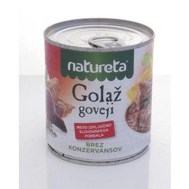 Natureta Natureta Goloz Goveji | Runder Goulash | 300G