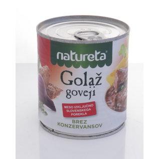 Natureta Natureta Goloz Goveji | Rindergulasch | 300 G