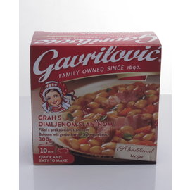 Gavrilovic Gavrilovic Grah Sa Slaninom   Haricots au bacon   300 GRAMMES
