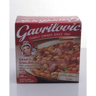 Gavrilovic Gavrilovic Grah Sa Slaninom   Bonen Met Spek   300G