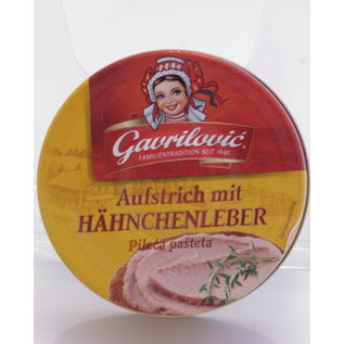 Gavrilovic | Hühnerleberpastete | 100G