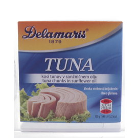 Delamaris Delamaris | Tonijn Zonnebloemolie | Izola | 80G
