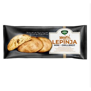 Mezza Lepinja Bosnische Broodjes | Verpakt per 3 | Mini Somun Mezza 3x80G