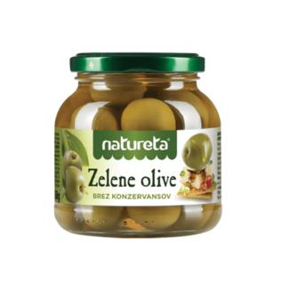 Zelene Masline | Groene Olijven Natureta | 250G