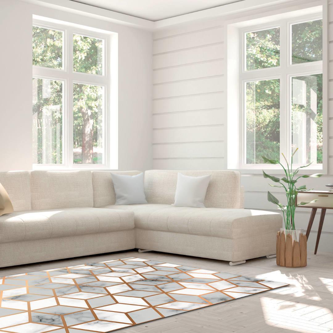 Woonkamer tapijt