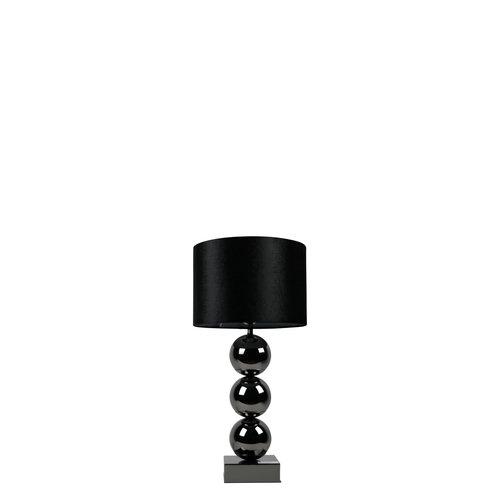 Lamp Black Square Base Kadizi, Black Square Base Table Lamp