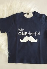 Momof3 T-shirt: Mr. ONEderful