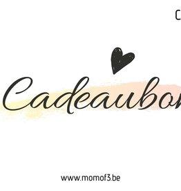 Momof3 Cadeaubon 15€