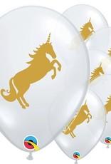 5 Unicorn ballonnen