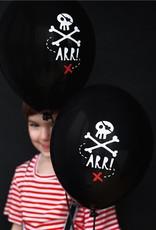 6 piraten ballonnen