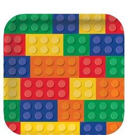 8 lego bordjes