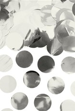 Tafelconfetti zilver