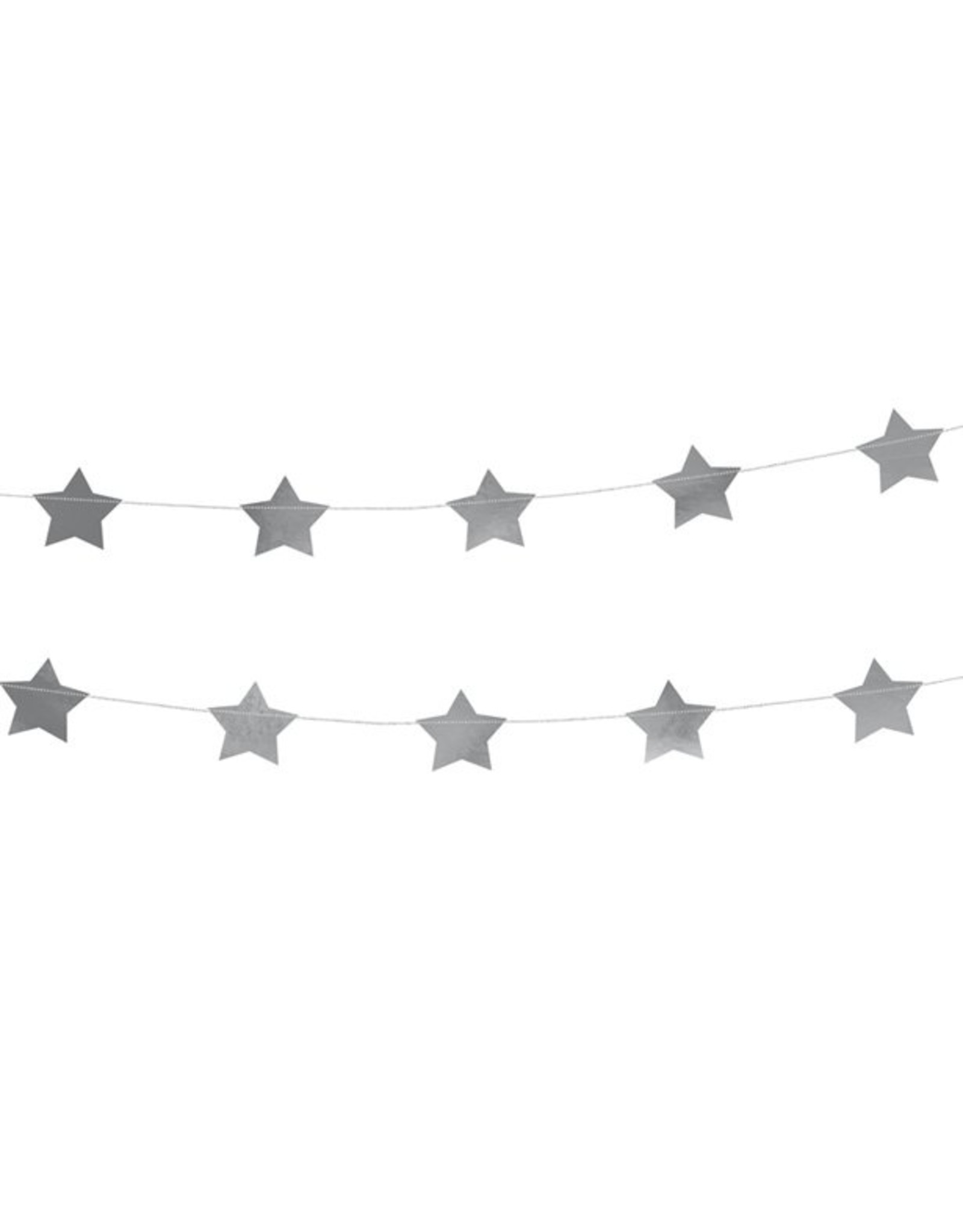 Zilveren sterrenslinger
