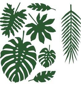 Tropische bladdecoratie