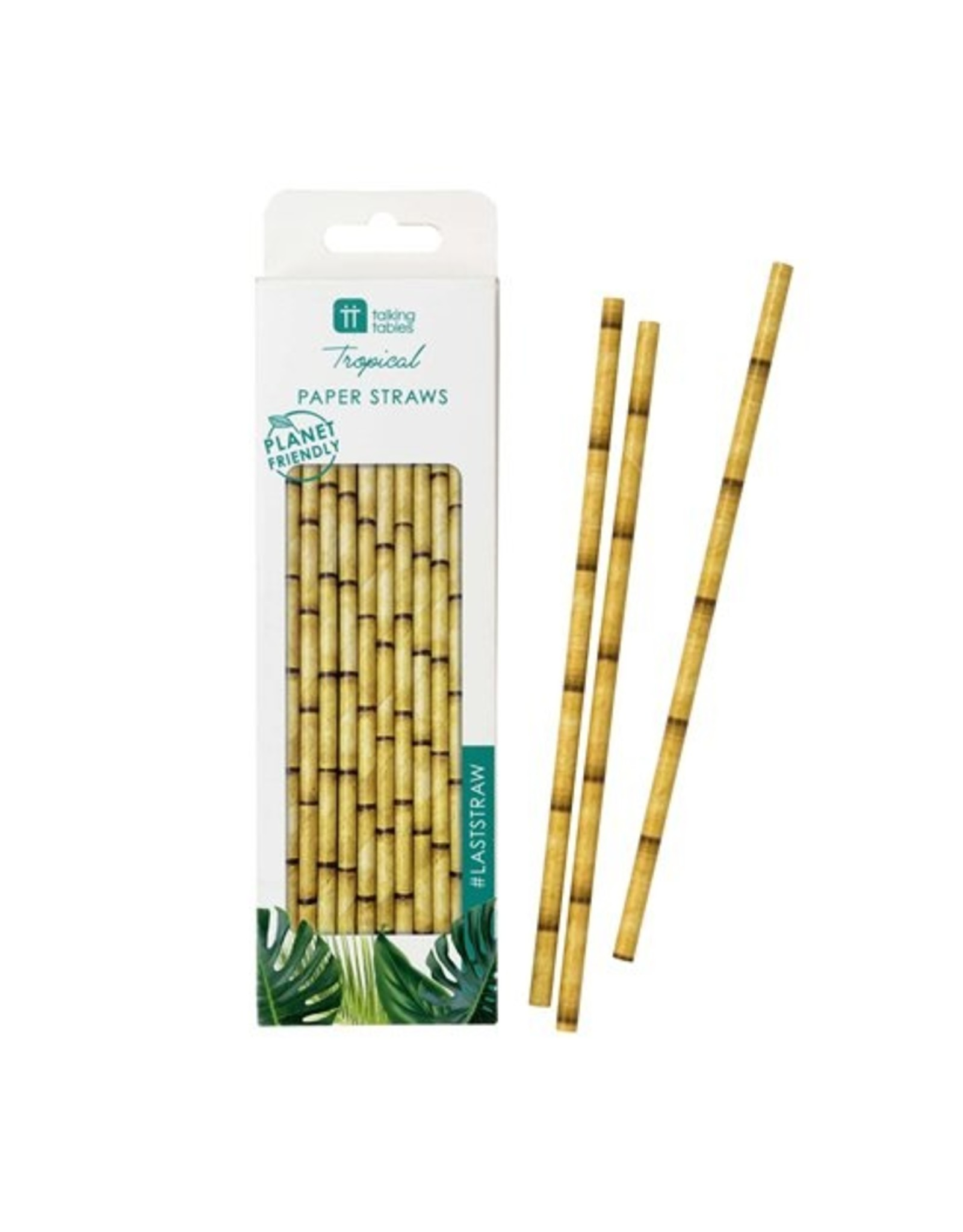 30 bamboe rietjes