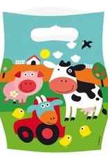8 uitdeelzakjes boerderij