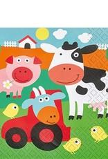 20 servetten boerderij