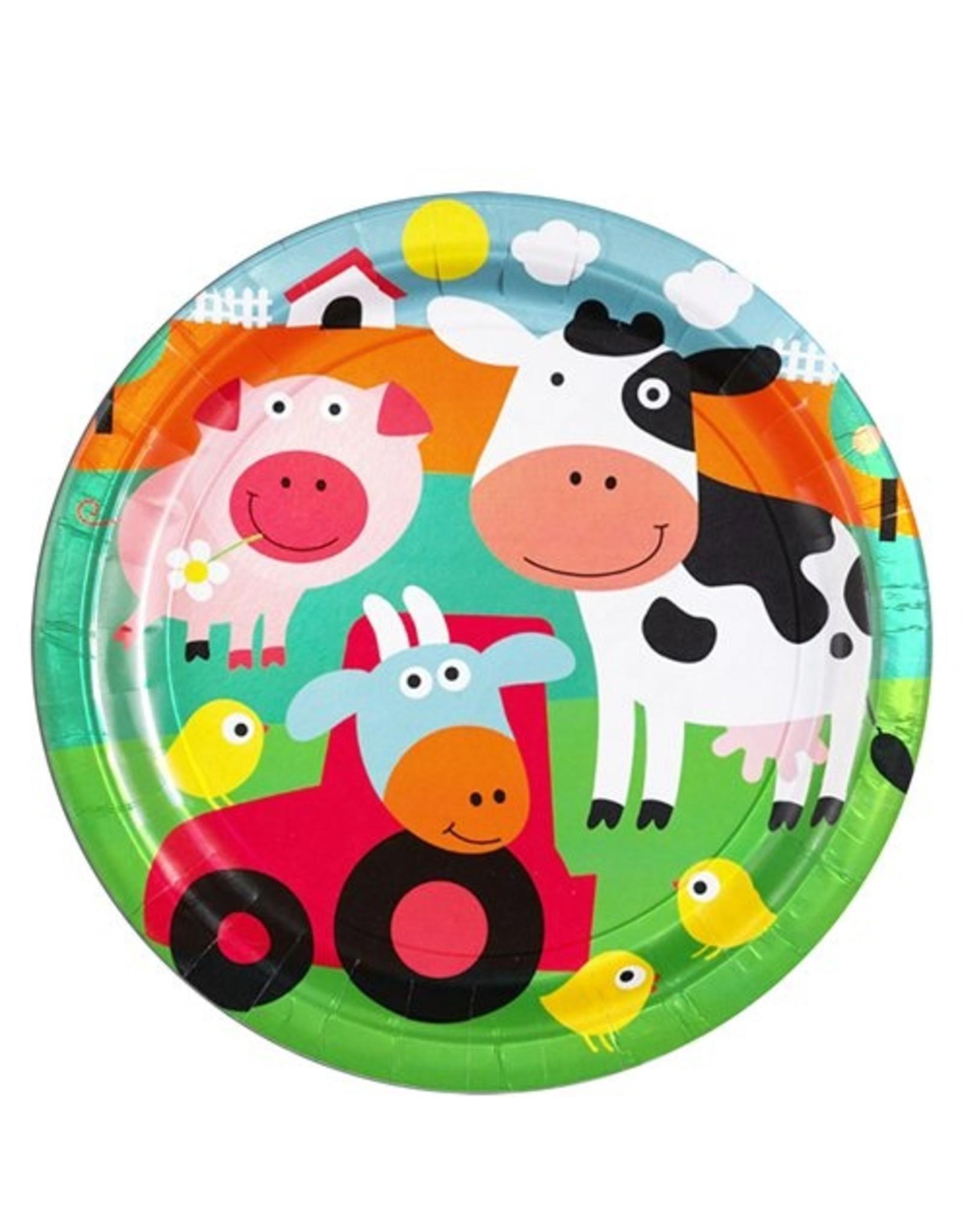 8 boerderij bordjes