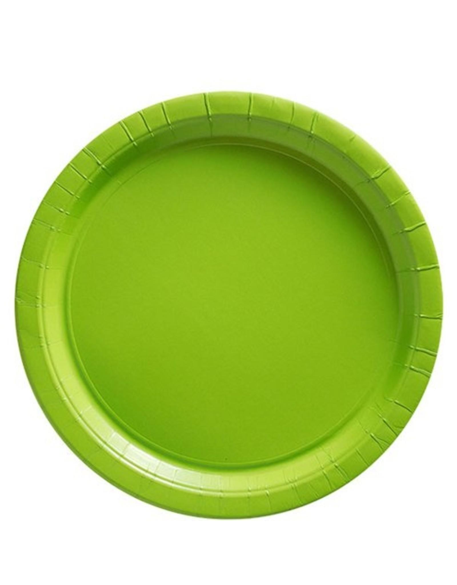 8 groene bordjes