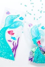 20 uitdeelzakjes zeemeermin