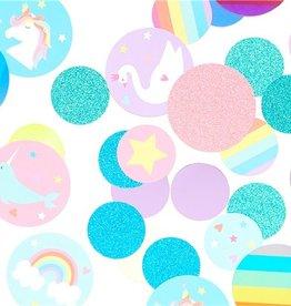 Magische regenboog confetti