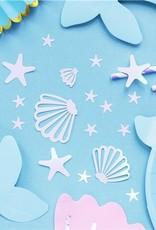 Tafel confetti: Zeemeermin