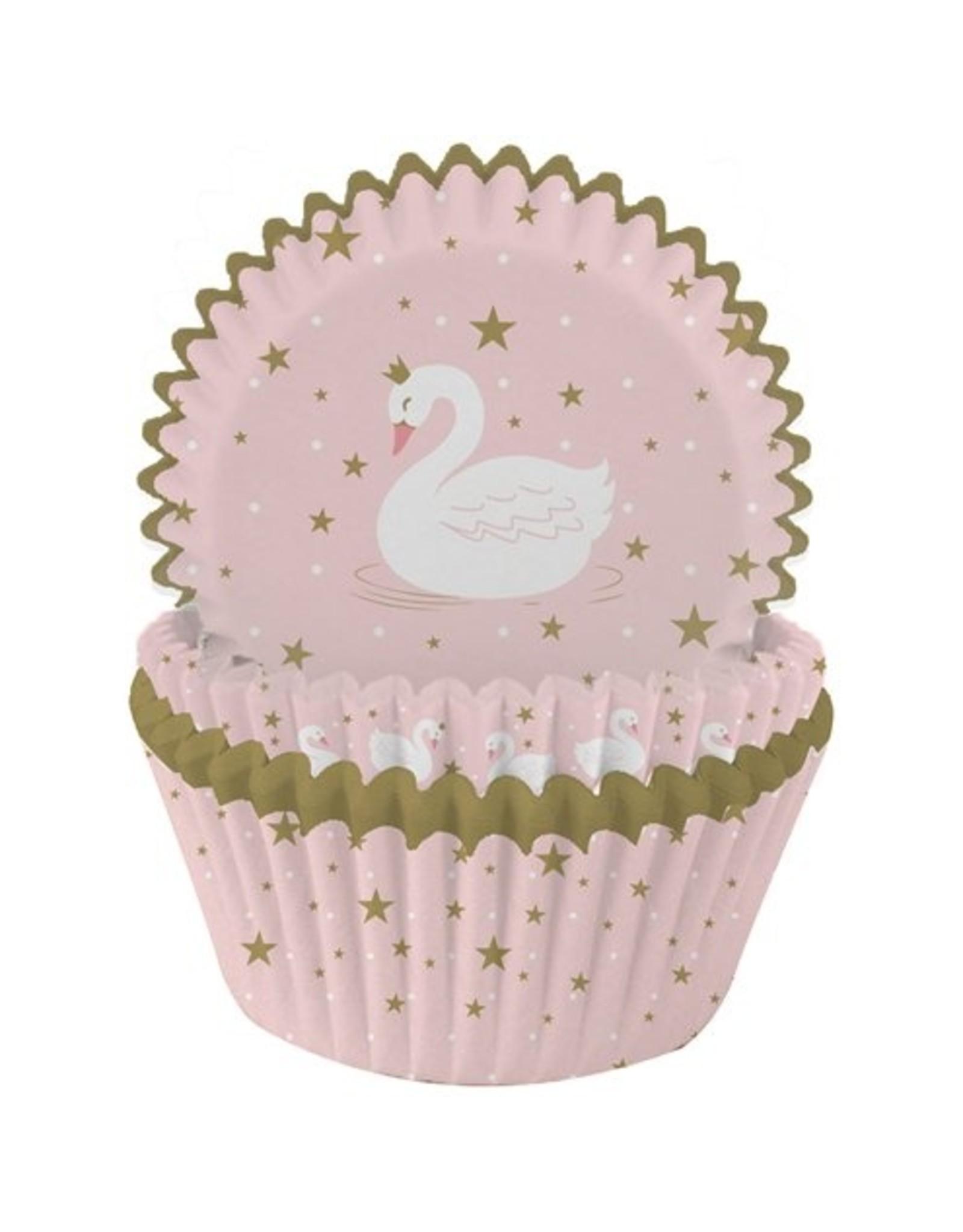 Cupcake vormen; zwaan