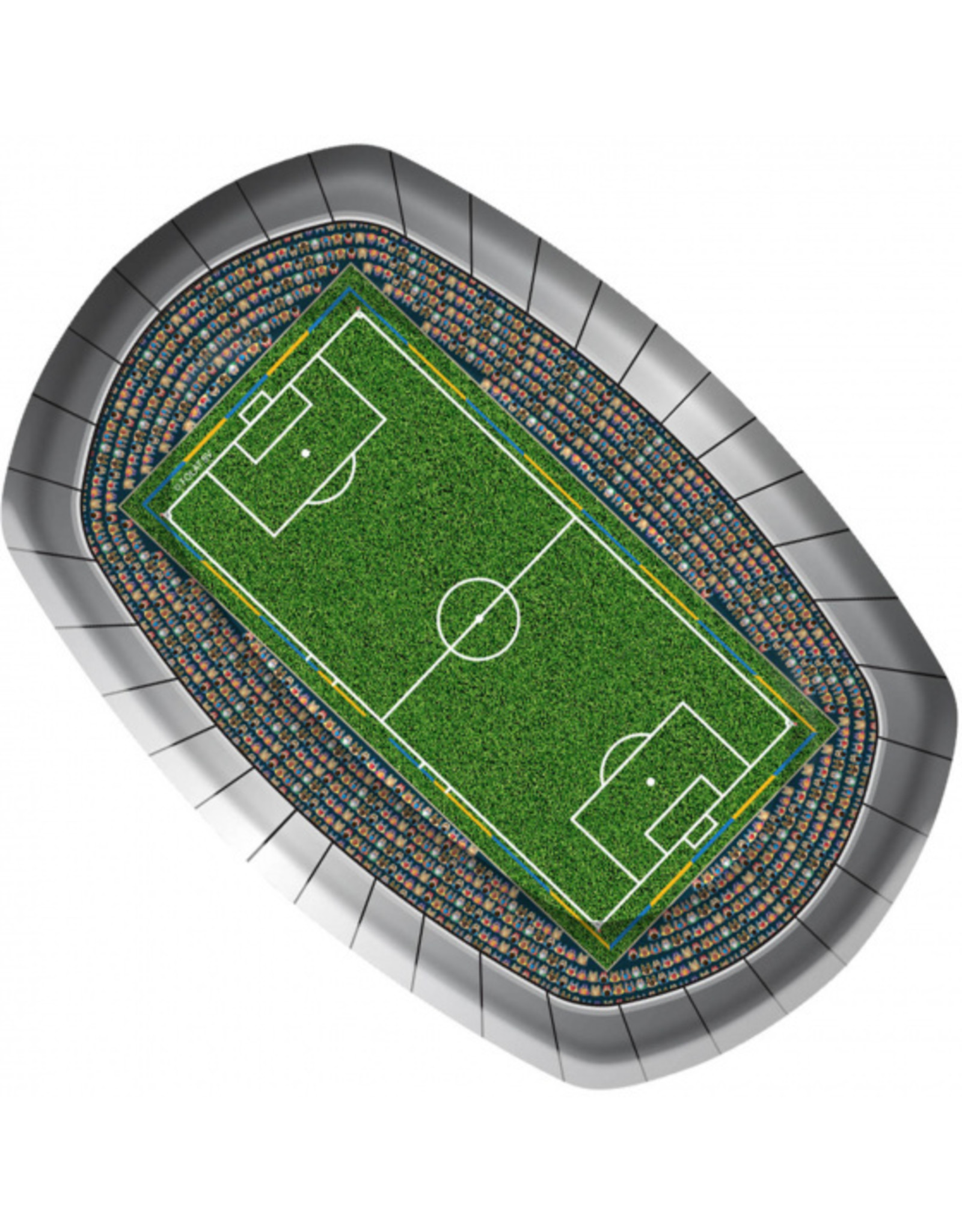 8 voetbalstadion bordjes