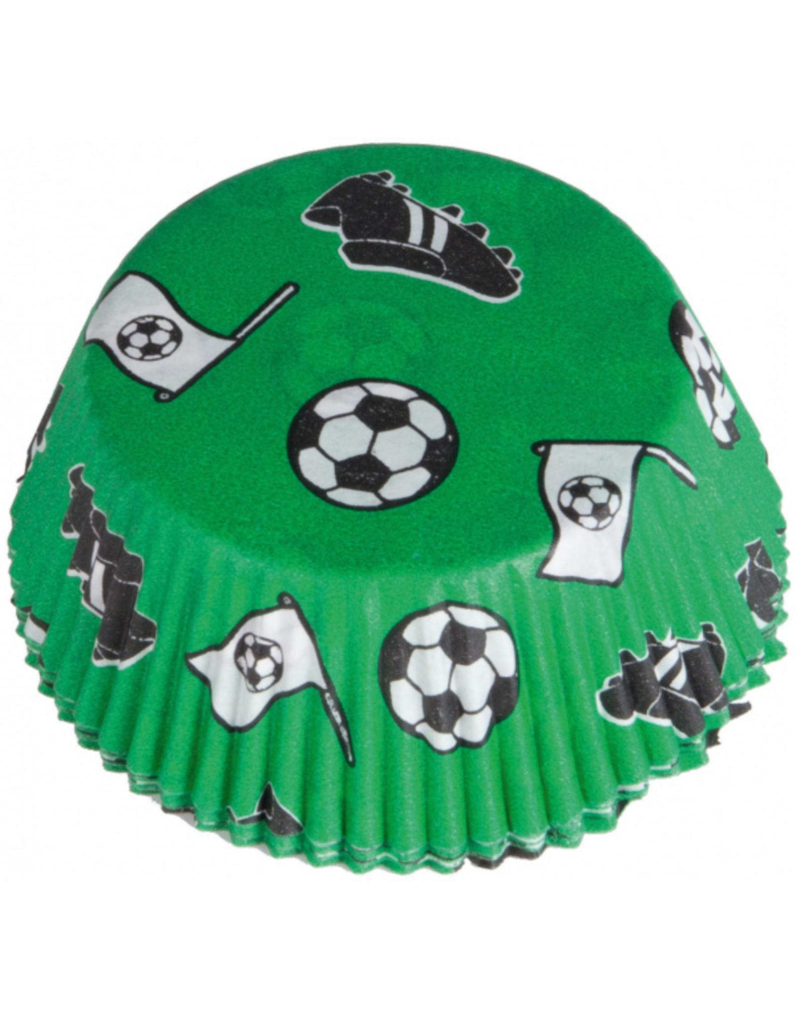 Cupcake vormen; voetbal