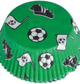 Cupcake vormen: voetbal