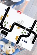 Speelgoedkist met trein of autobaan