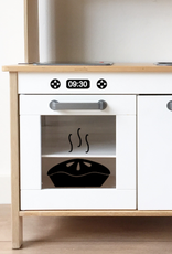 Keukentjes met stickers
