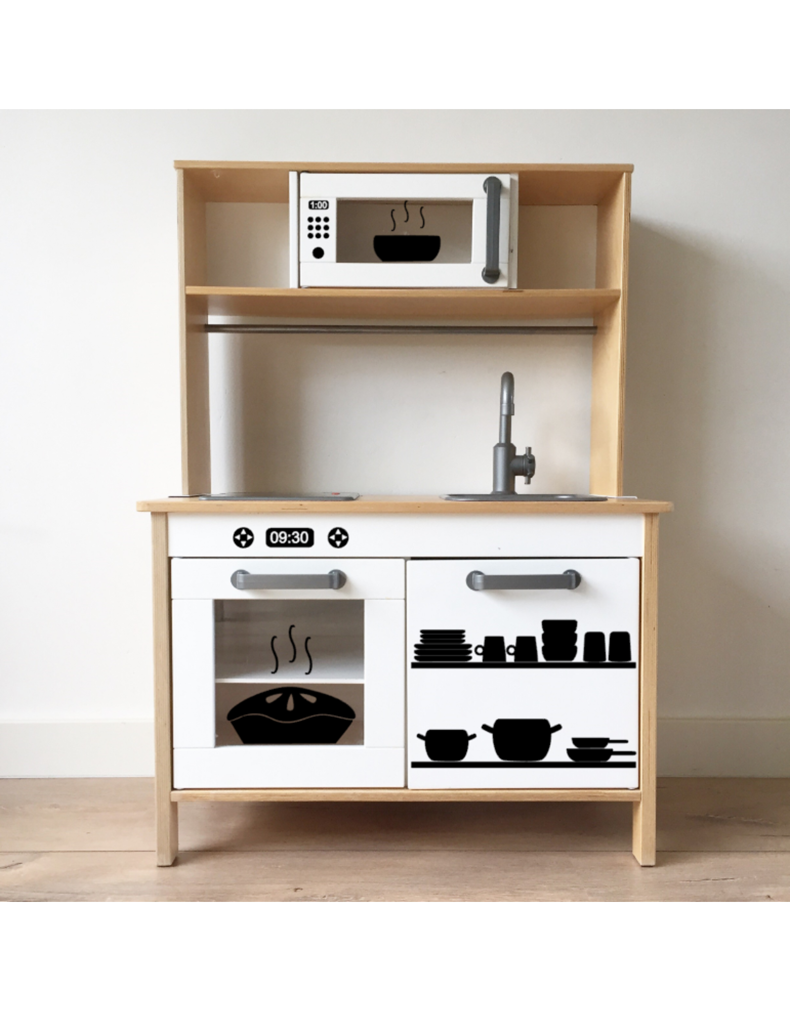 IKEA Duktig keukenstickers complete set