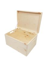 Blanco houten kist 40cm