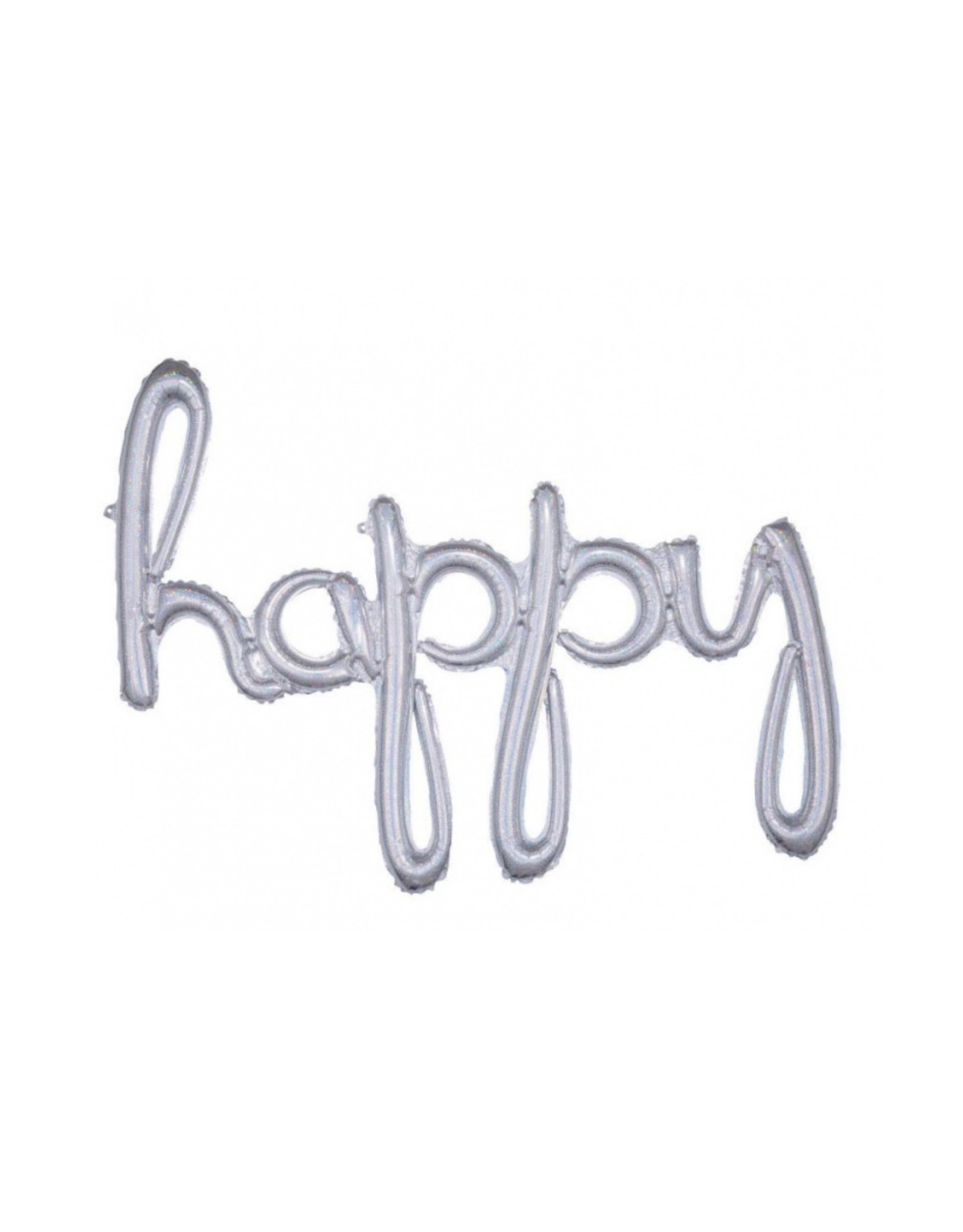 Folieballon 1m happy