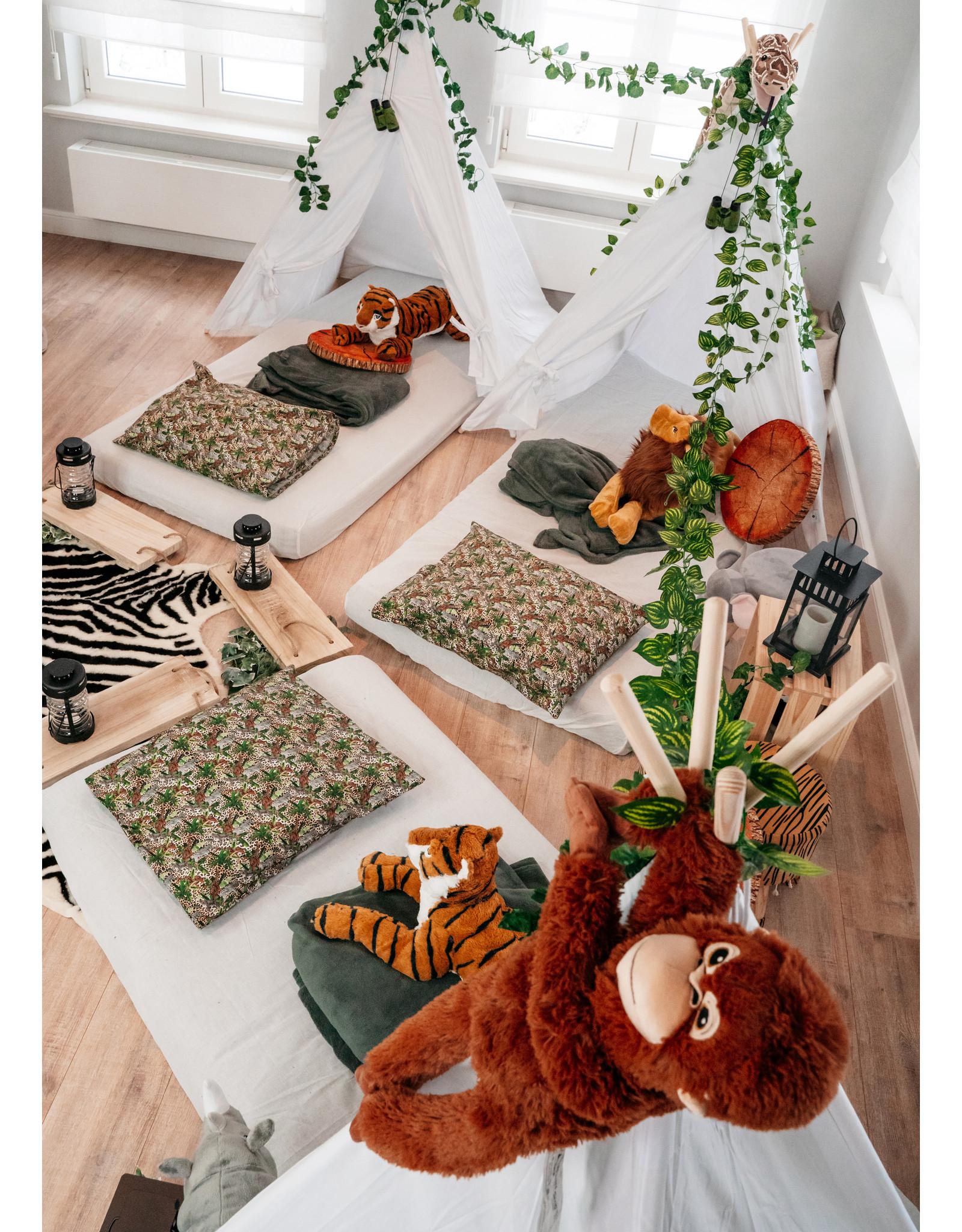 Jungle slaapfeest