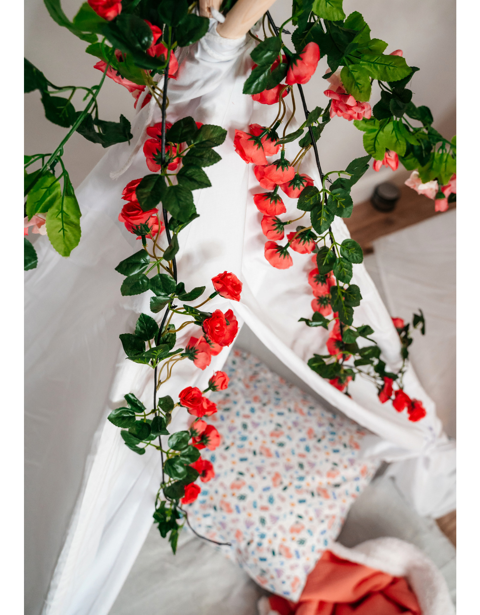 Slaapfeestjes: Flowers
