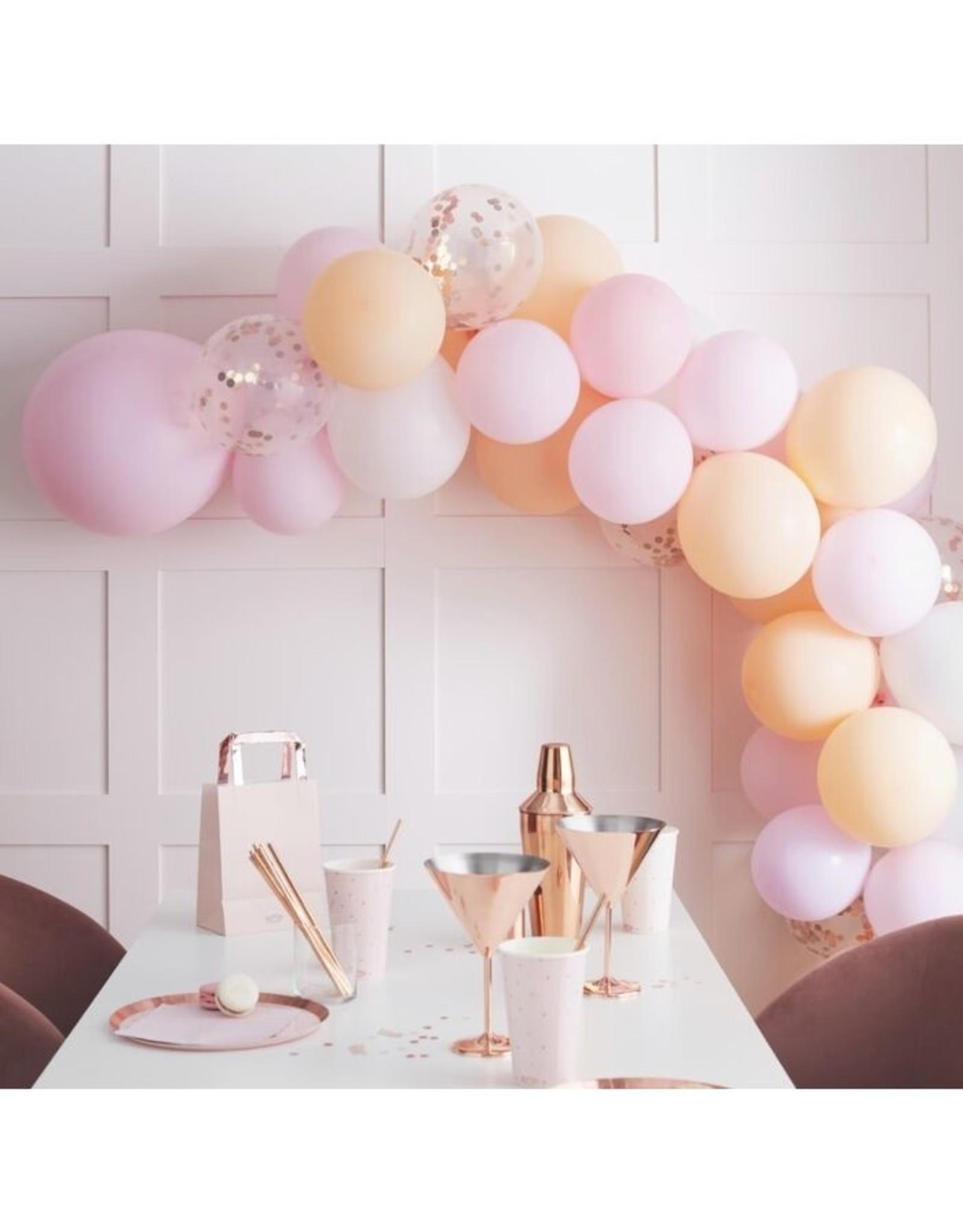 Gingerray Ballonnenboog: Peach
