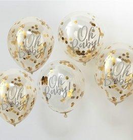 Gingerray Oh baby! Gouden ballonnen