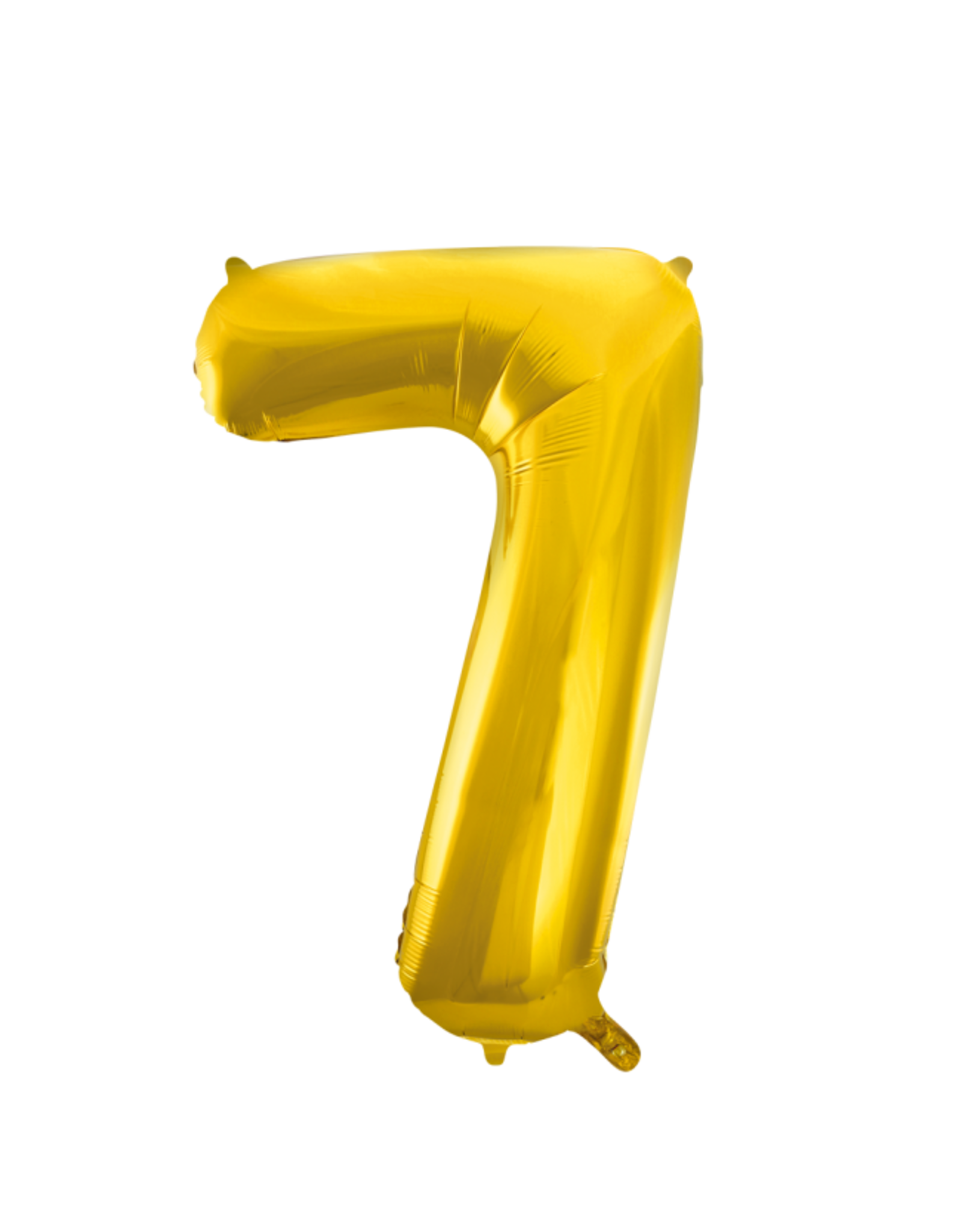 Cijferballon XXL goud / 7