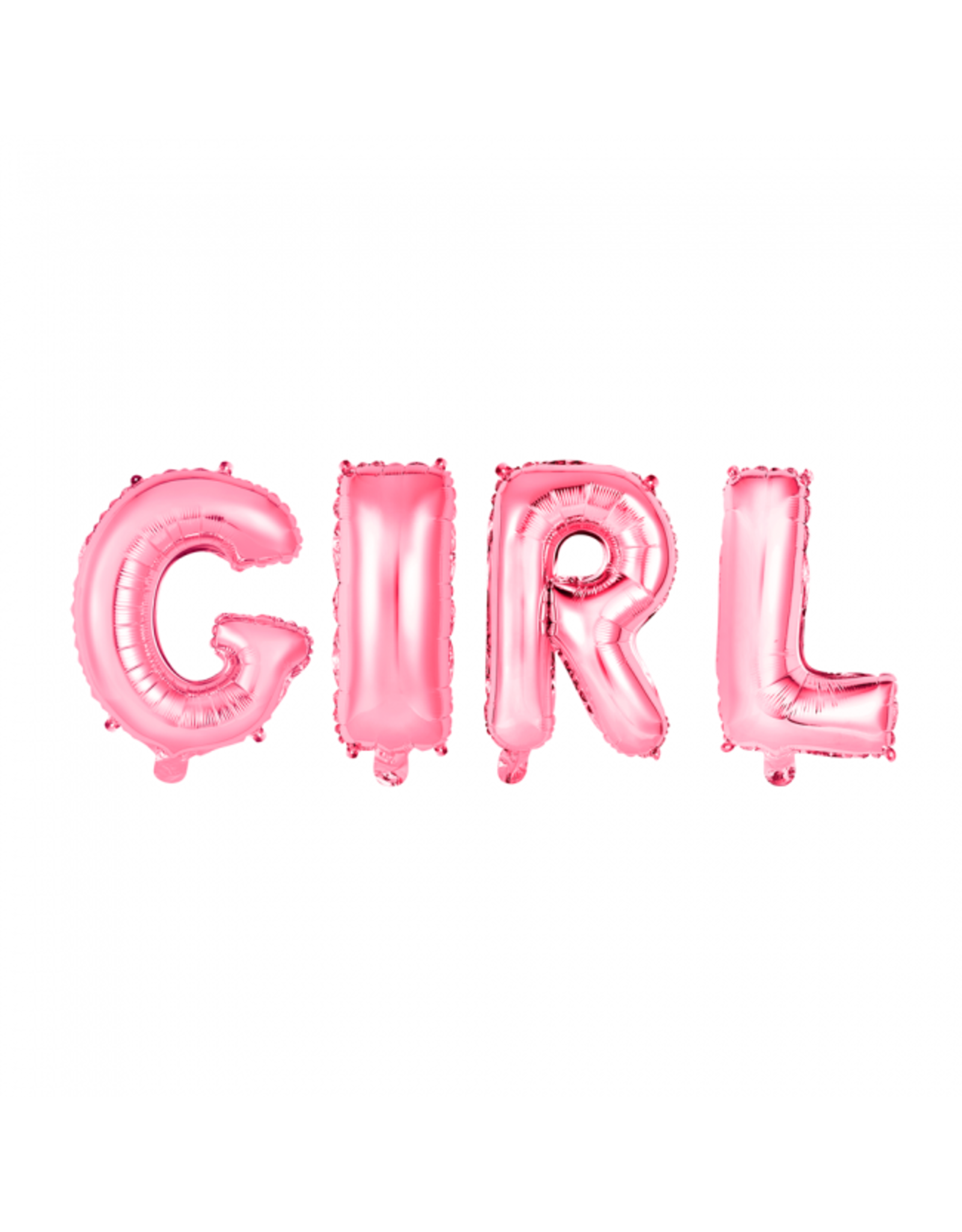 Folieballon roze: Girl