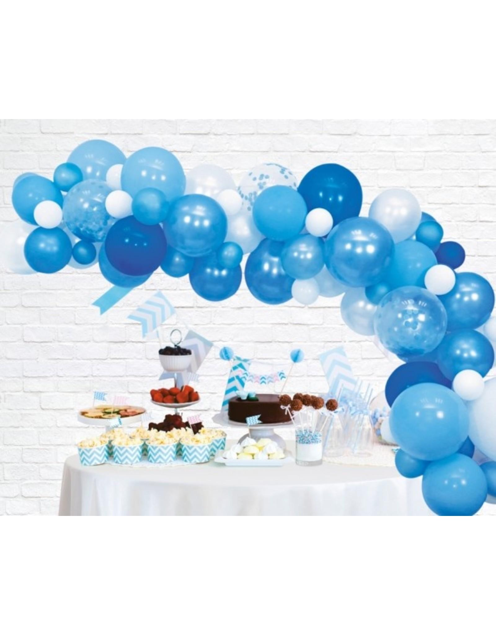 Ballonnenboog: Blauw