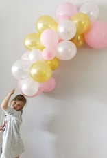 Momof3 Ballonnenslinger: Goud - Roos - Wit