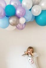 Ballonnenslinger: Blauw - Paars