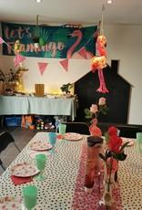 Themafeest: Flamingo