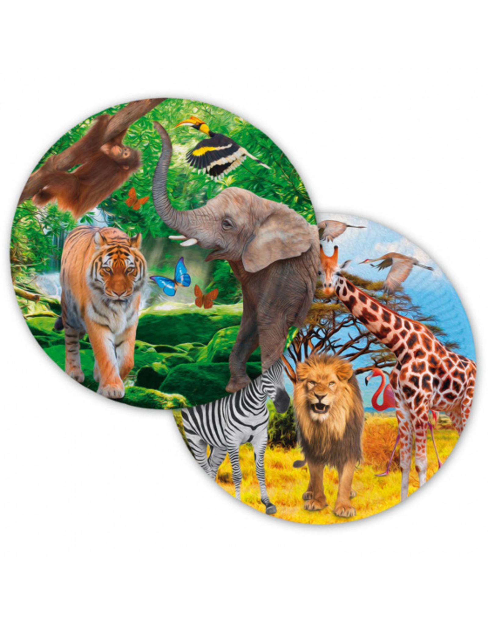8 safari feestborden