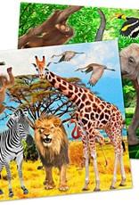 20 safari servetten