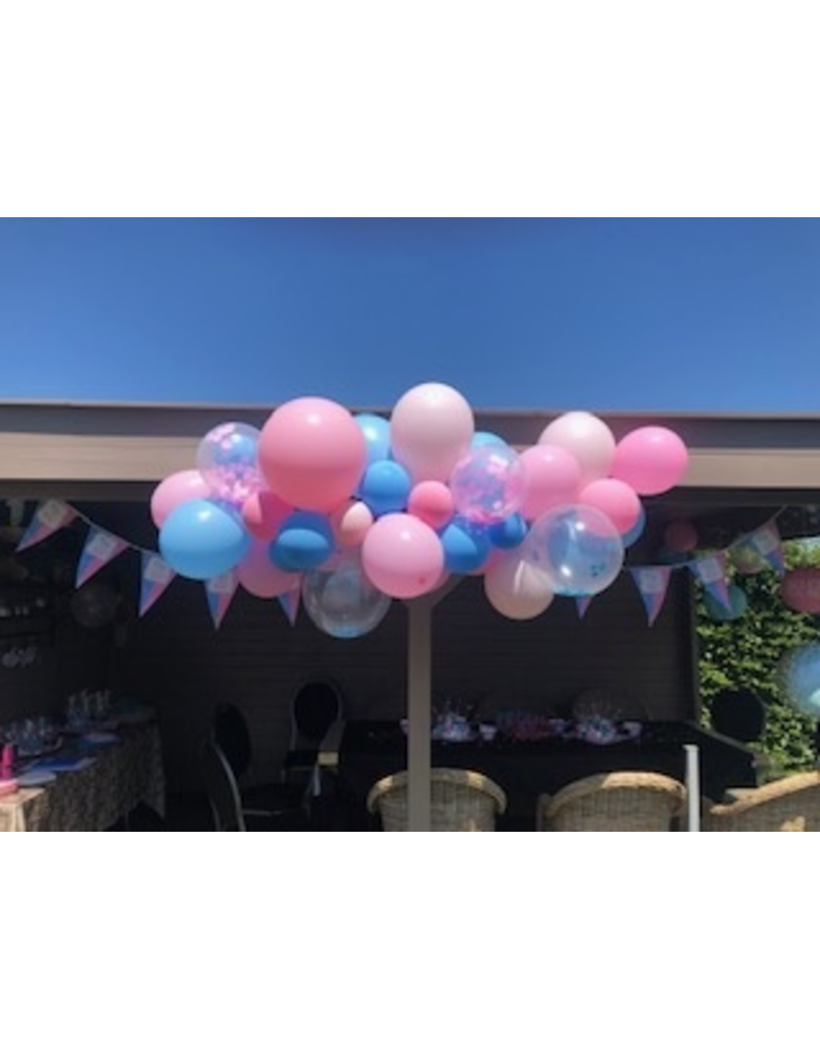 Ballonnenboog: Gender reveal